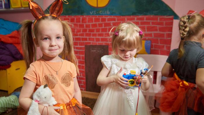 Наш новый год. Детский клуб Волшебная Страна.