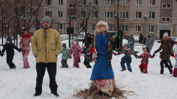 Масленица 2018. Детский клуб Волшебная Страна.